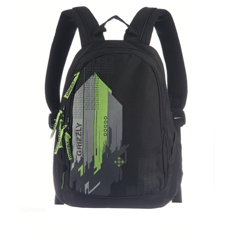 Ru-502-2 рюкзак рюкзак code red subway черный/серый/черная